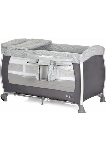 iCoo Baby - Reisebett, »Starlight Diamond Grey« kaufen