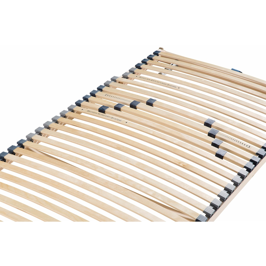 Beco Lattenrost »Noxus Flex K«, (Set, 2 St., 2-tlg.), mit Härteverstellung