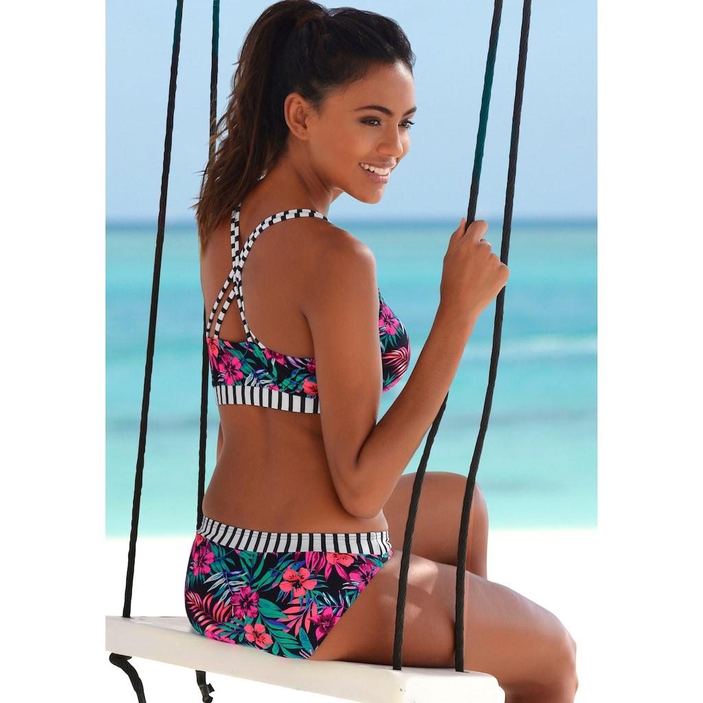 Venice Beach Bustier-Bikini-Top »Summer«, mit gerkreuzten Trägern