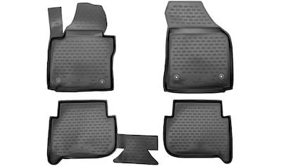WALSER Passform-Fußmatten »XTR«, VW, Touran, Großr.lim., (4 St., 2 Vordermatten, 2... kaufen