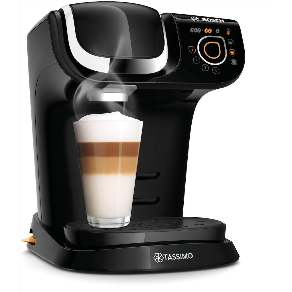 TASSIMO Kapselmaschine »My Way 2 TAS6502«, Kaffeemaschine by Bosch, schwarz, mit Wasserfilter, über 70 Getränke, Personalisierung