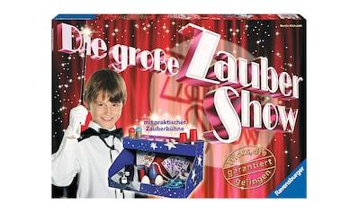Ravensburger Zauberkasten »Die große Zaubershow«, Made in Europe kaufen