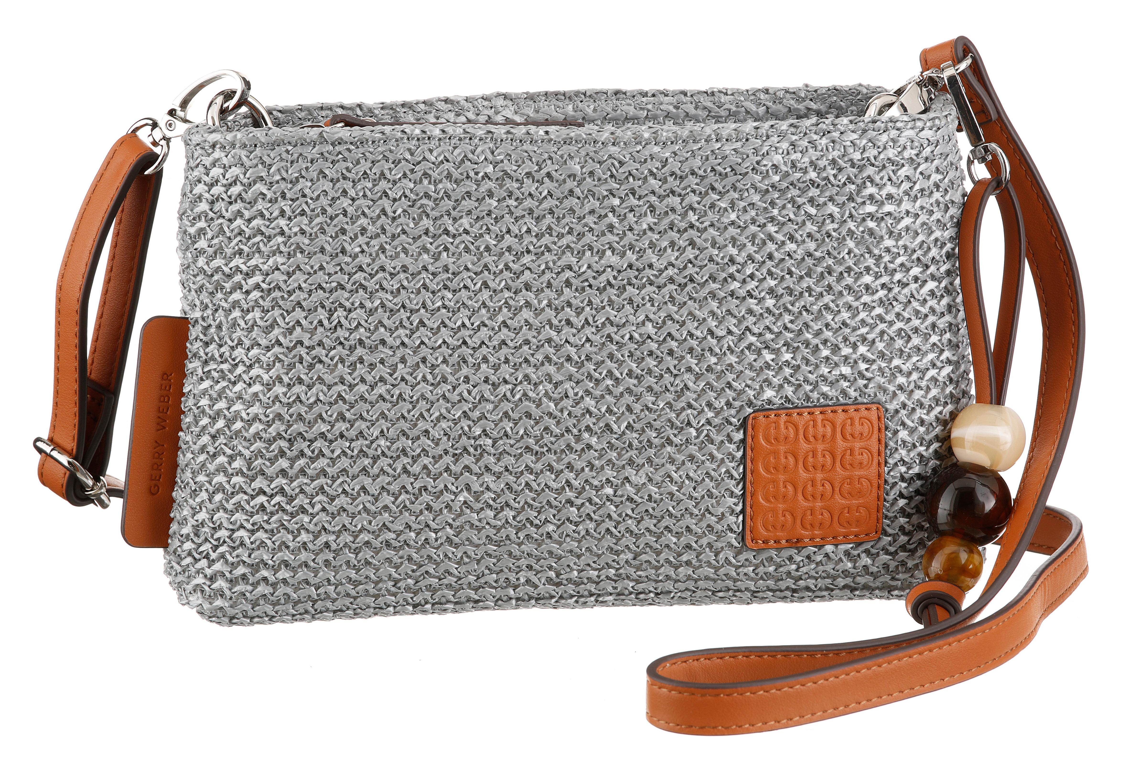 gerry weber bags -  Umhängetasche, mit schönem Zieranhänger