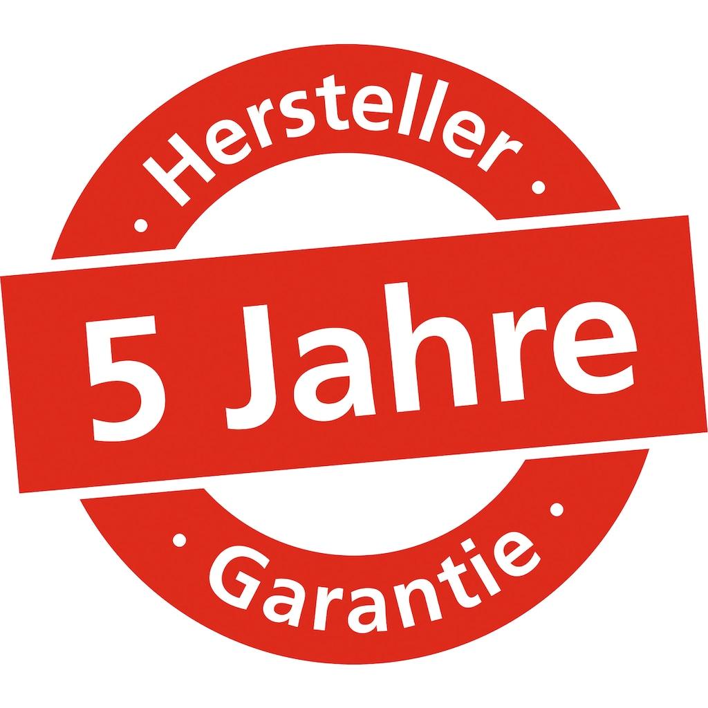 Burg Wächter Briefkasten »Kiel 886 GR«, mit separatem Zeitungsfach, aus Kunststoff