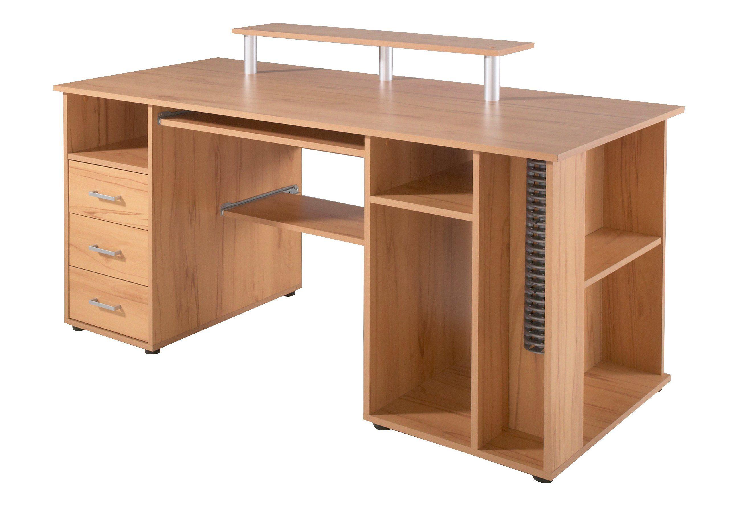 Schreibtisch ´´Baku´´, mit Tastaturauszug, Schildmeyer
