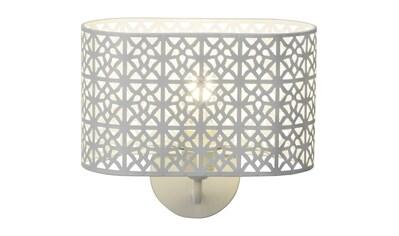 Brilliant Leuchten Wandleuchte »Nour«, E27, 1 St., Wandlampe weiß kaufen