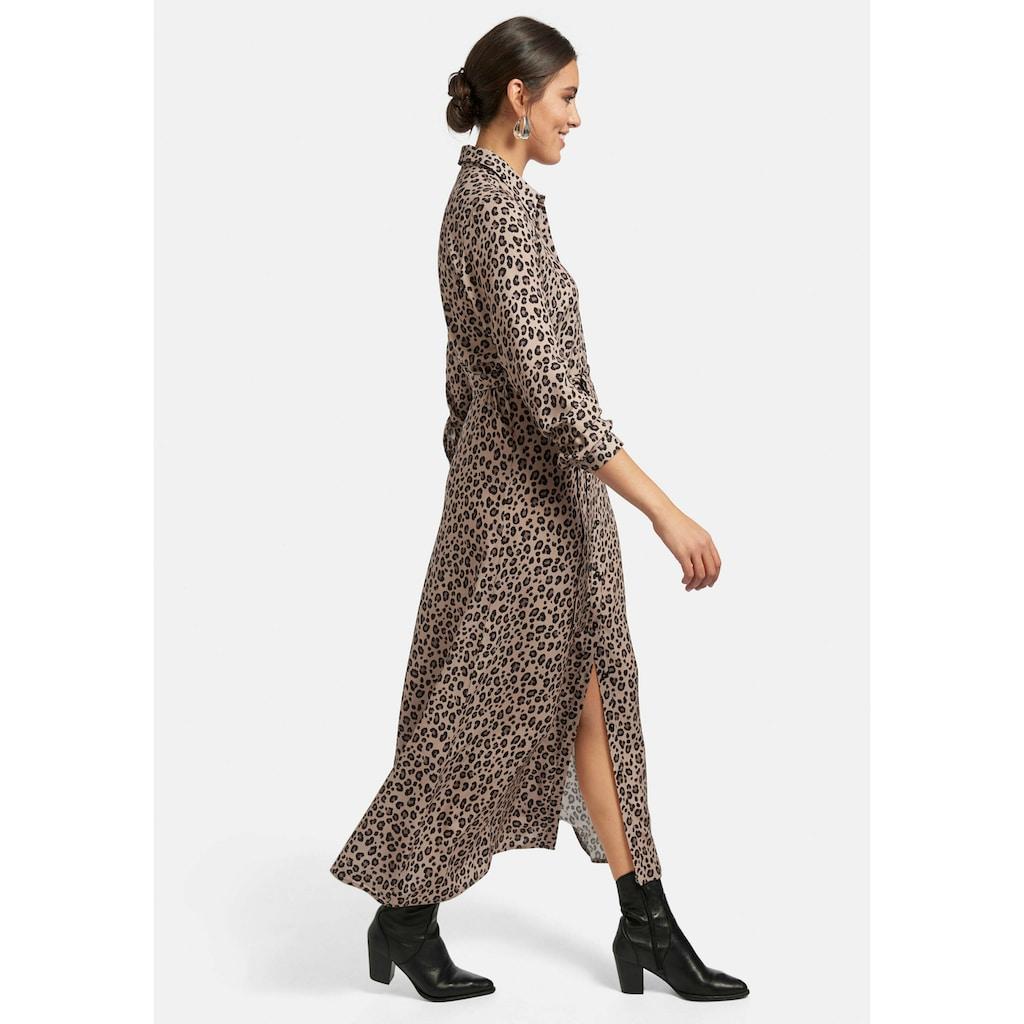Emilia Lay Abendkleid »Hemdblusenkleid«, mit Bindegürtel