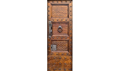 LIVINGWALLS Fototapete »antike Holztür« kaufen