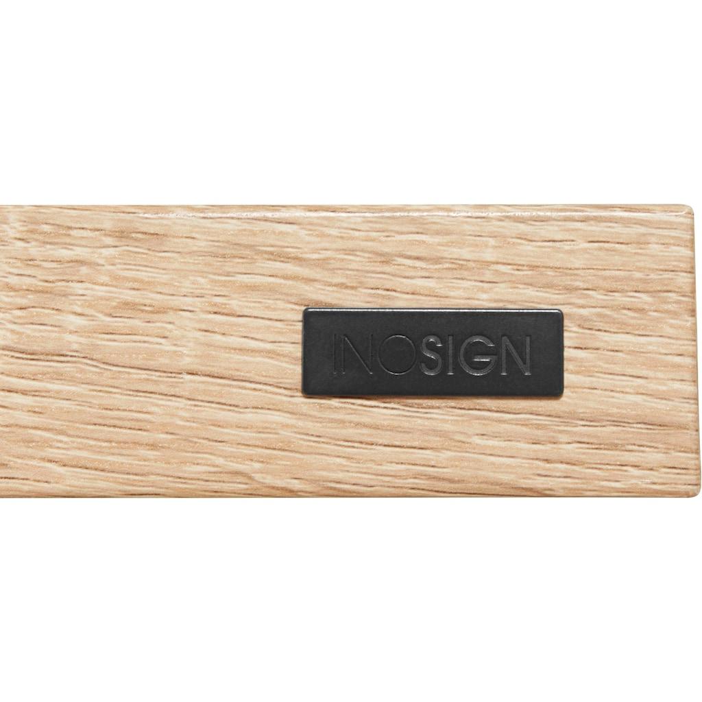 INOSIGN Esstisch »Claudell«, erstrahlt in einer schönen Holzoptik, in zwei unterschiedlichen Tischbreiten
