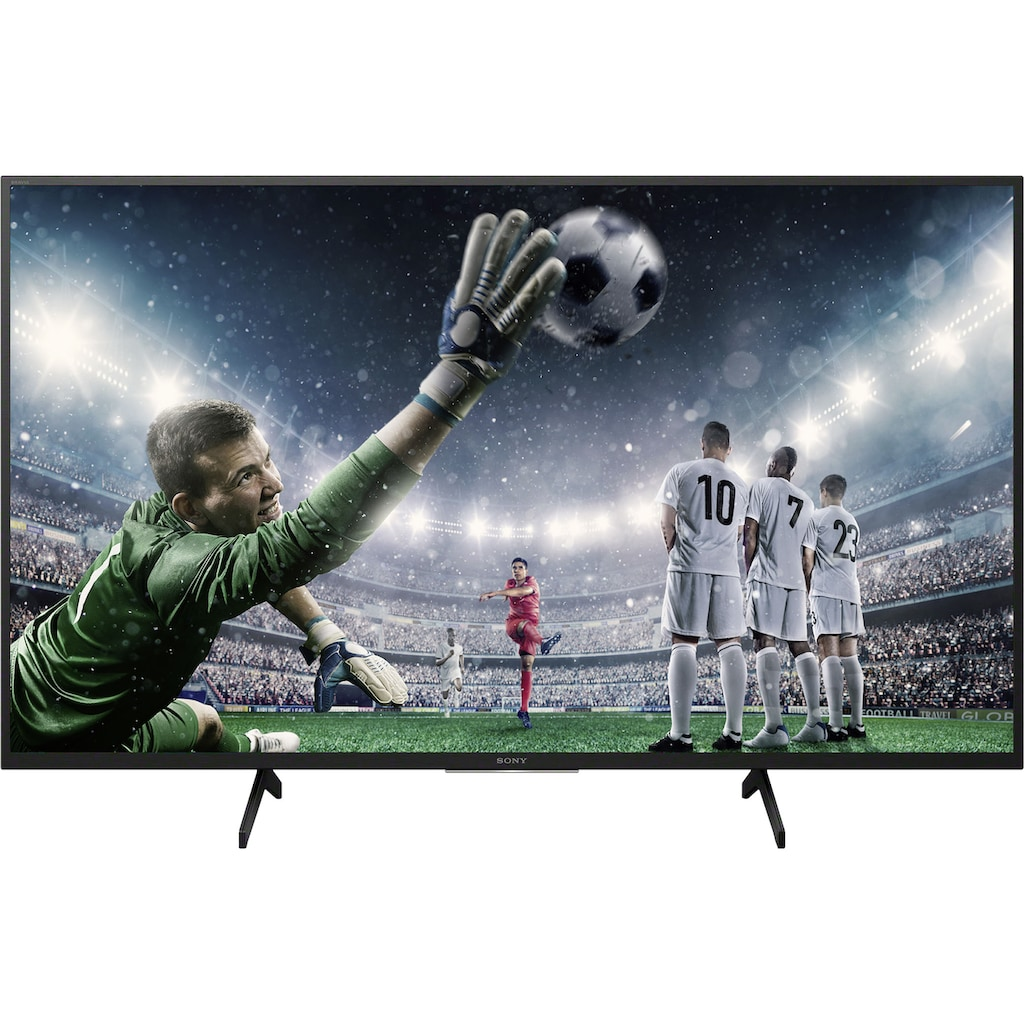 "Sony LED-Fernseher »KD-49XH8096 Bravia«, 123 cm/49 "", 4K Ultra HD, Android TV-Smart-TV"