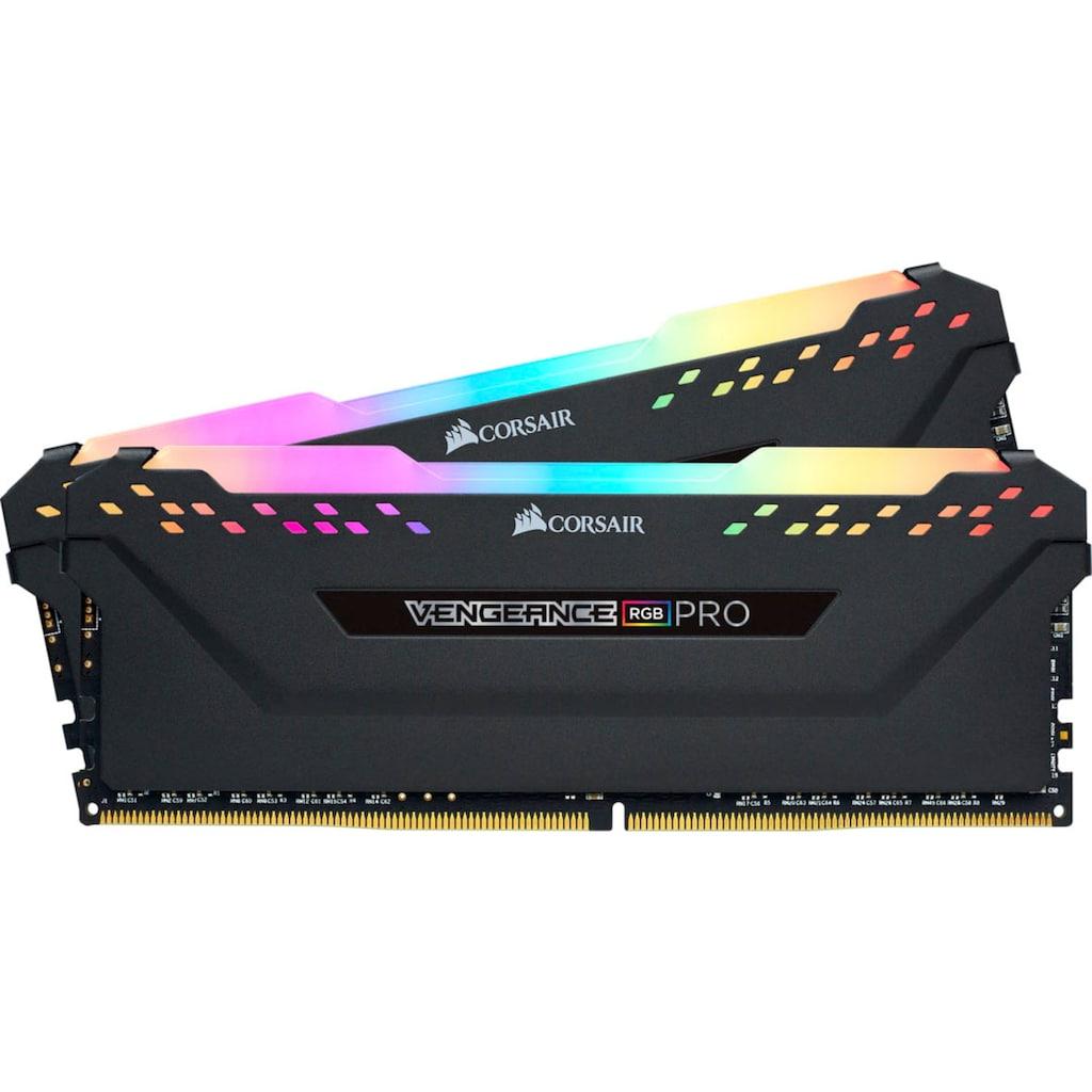 Corsair Arbeitsspeicher »Vengeance RGB DDR4 3600MHz 16GB (2x8GB)«