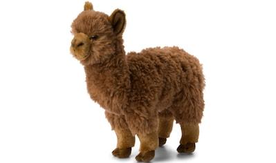 WWF Kuscheltier »Alpaka braun, 31cm«, zum Teil aus recycelten Material kaufen