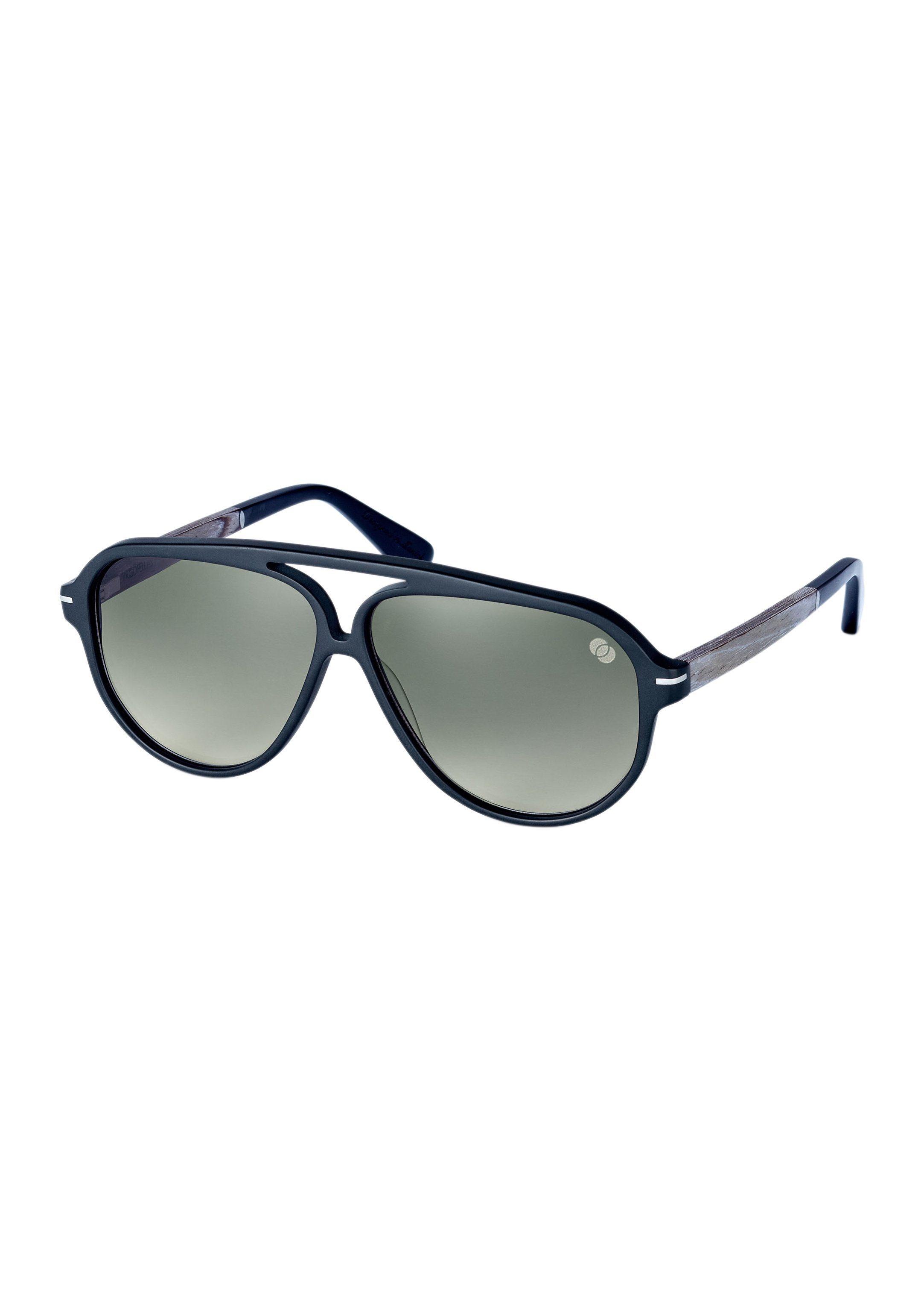 WOOD FELLAS Sonnenbrille Herren mit Bügel aus Edelholz | Accessoires > Sonnenbrillen > Sonstige Sonnenbrillen | Wood Fellas