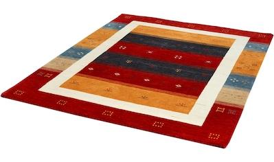 Dekowe Wollteppich »Aparna«, rechteckig, 13 mm Höhe, reine Wolle, Orient-Optik, Gabbeh Design, Wohnzimmer kaufen