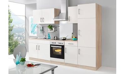 HELD MÖBEL Küchenzeile »Toronto«, mit E-Geräten, Breite 270 cm kaufen