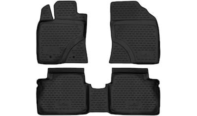 WALSER Passform-Fußmatten »XTR«, (4 St.), für Seat Leon Bj 05/2005 - 12/2013 kaufen