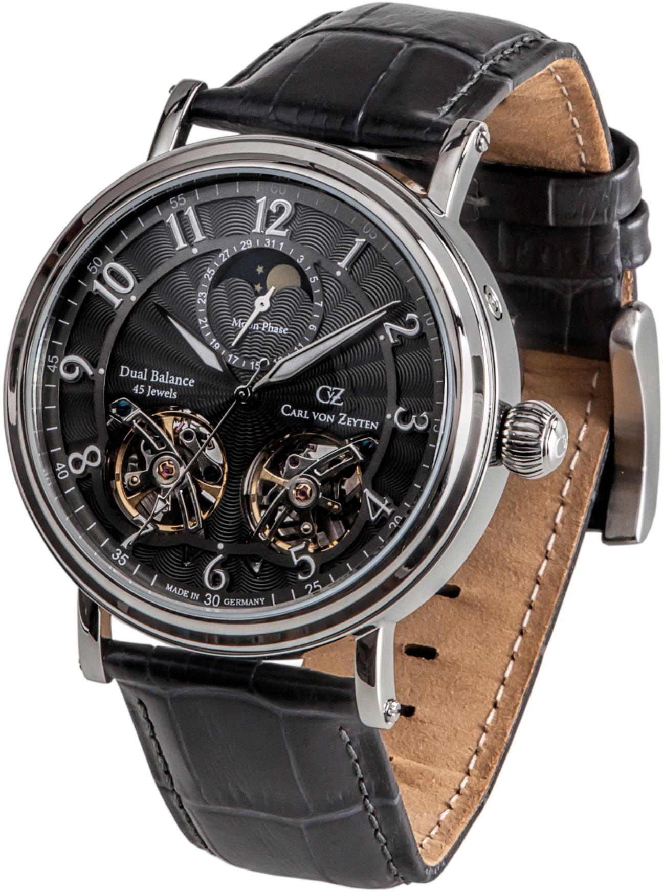 Carl von Zeyten Automatikuhr Murg CVZ0054GY | Uhren > Automatikuhren | Carl Von Zeyten