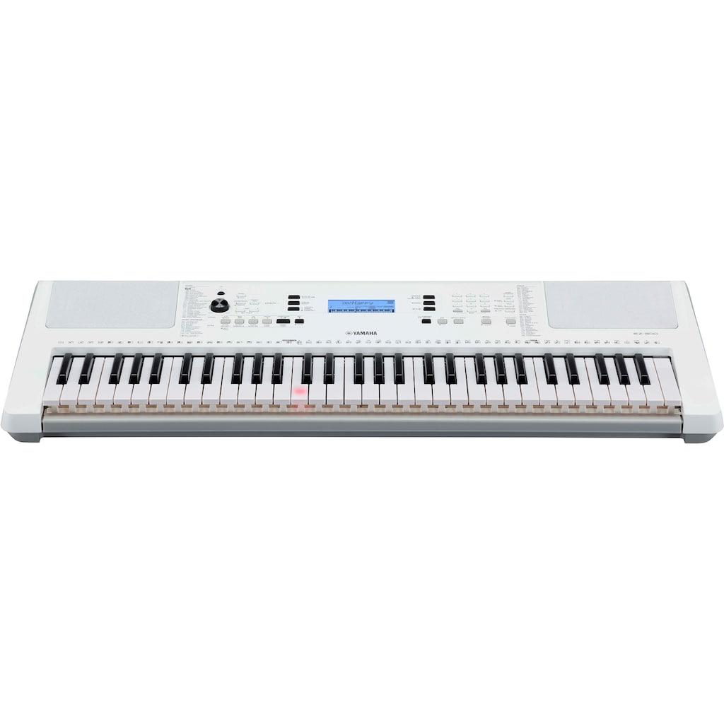 Yamaha Keyboard »EZ-300, weiß«