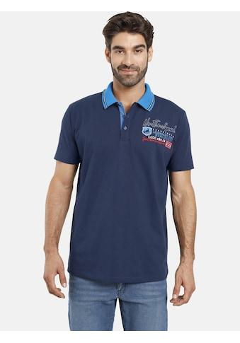 Jan Vanderstorm Poloshirt »INGER«, reine Baumwolle, Comfort Fit kaufen