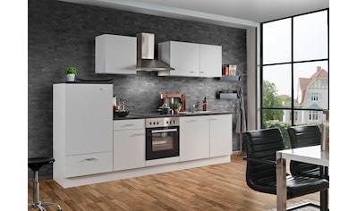 Menke Küchen Küchenzeile »White Classic«, Küchenzeile mit E-Geräten, Breite 280 cm kaufen