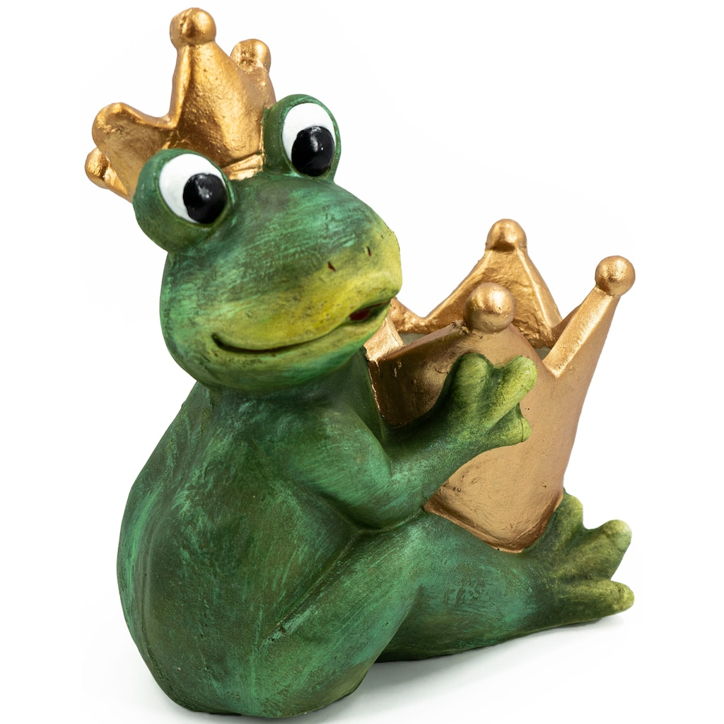 NOOR LIVING Übertopf »Pflanztopf Froschkönig XXL«, (1 St.)