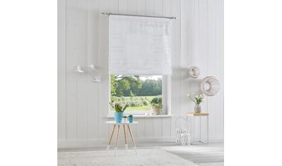 my home Raffrollo »Assen«, mit Klettband kaufen
