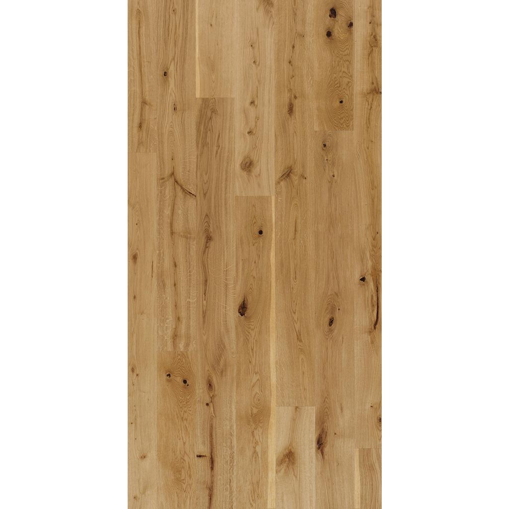 PARADOR Parkett »Basic Rustikal - Eiche, lackiert«, lackiert, 2200 x 185 mm, Stärke: 11,5 mm, 4,07 m²