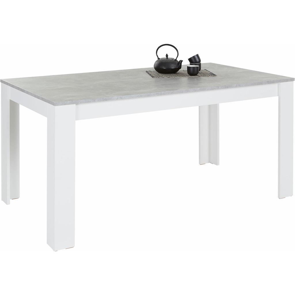 Homexperts Esstisch »Zabona«, Esstisch, Breite 160 cm