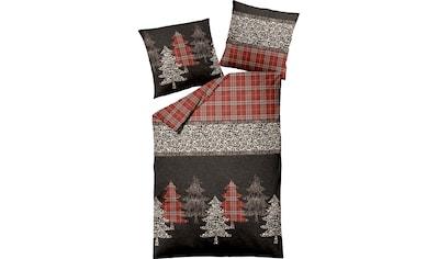 Dormisette Bettwäsche »Tannen«, mit winterlichem Dessin kaufen