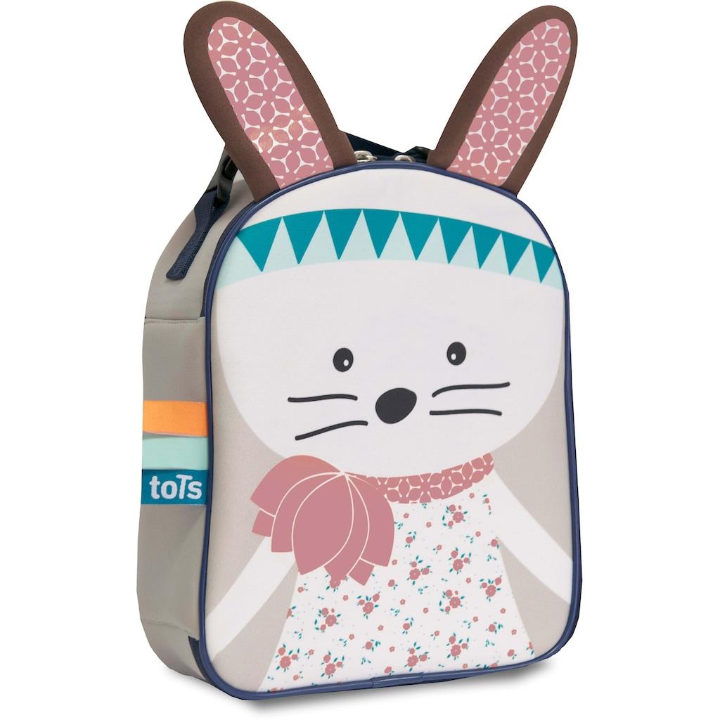 smarTrike® Kindergartentasche »toTs by SmarTrike® Fur-ever Brotzeitbox Hase«, mit isoliertem Lebensmittelfach