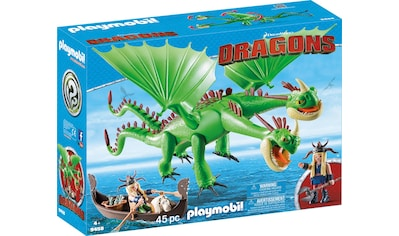Playmobil® Konstruktions-Spielset »Raffnuss und Taffnuss mit Kotz und Würg (9458), Dragons«, Made in Europe kaufen
