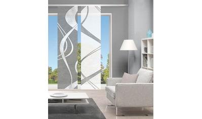 Vision Schiebegardine »TIBONO 2er SET«, Bambus-Optik, Digital bedruckt kaufen