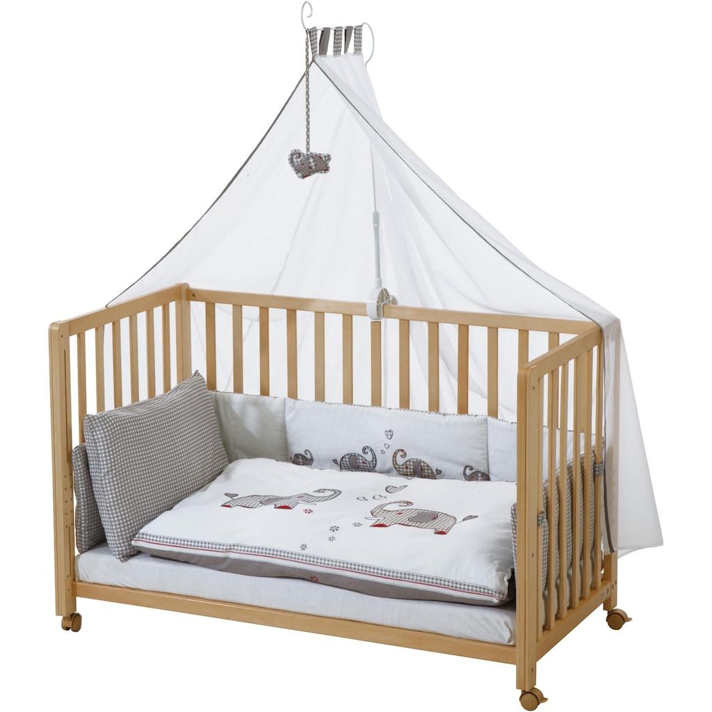 roba® Babybett »Room Bed, Jumbo twins grau«