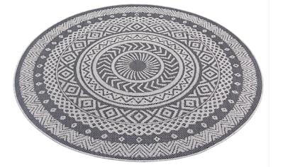 Leonique Teppich »Sia«, rund, 3 mm Höhe, Wohnzimmer kaufen