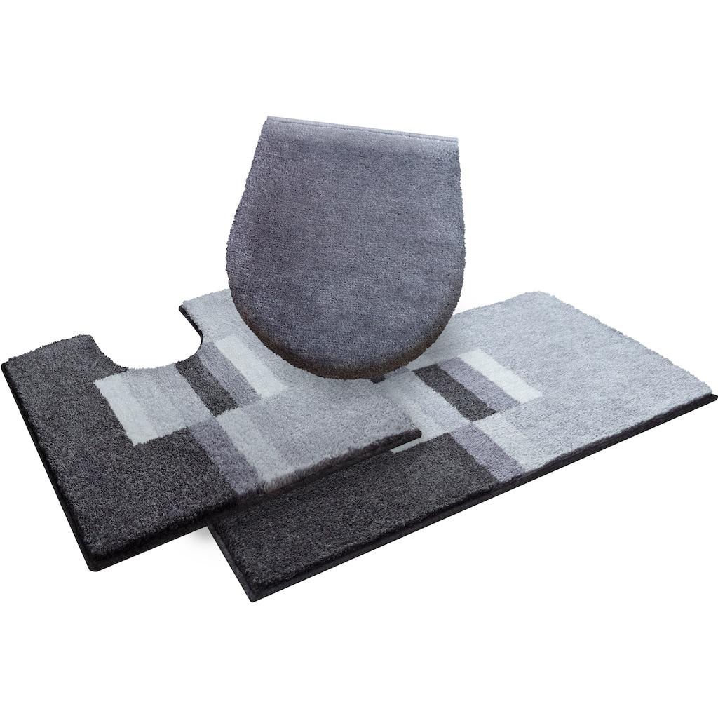 GRUND exklusiv Badematte »Thassos«, Höhe 20 mm, rutschhemmend beschichtet, schmutzabweisend