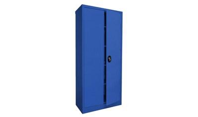 SZ METALL Mehrzweckschrank, B/T/H: 80x40x180 cm, abschließbar kaufen