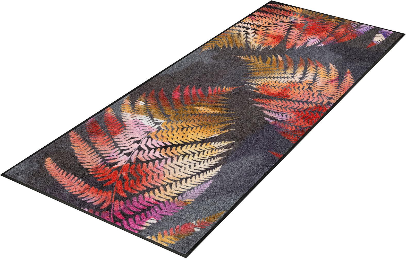 Läufer Erbario wash+dry by Kleen-Tex rechteckig Höhe 7 mm gedruckt