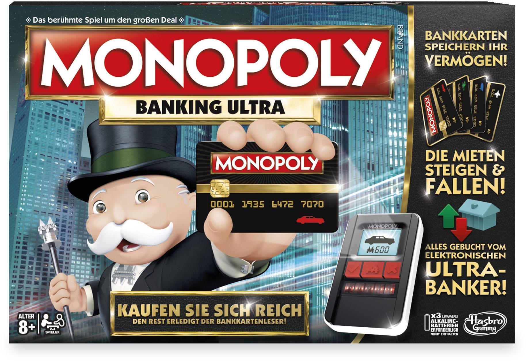 "Hasbro Spiel ""Monopoly Banking Ultra"""