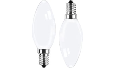 BLULAXA LED-Filament »Retro Multi«, E14, 10 St., Warmweiß, 10er-Set, Promotion-Pack Kerzenform, Filament, opal kaufen