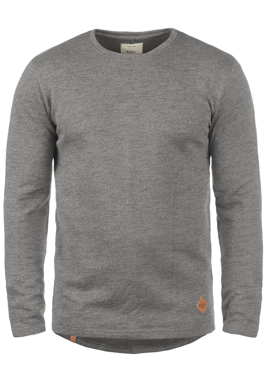 REDEFINED REBEL Sweatshirt Matthew   Bekleidung > Sweatshirts & -jacken > Sweatshirts   Grau   Redefined Rebel