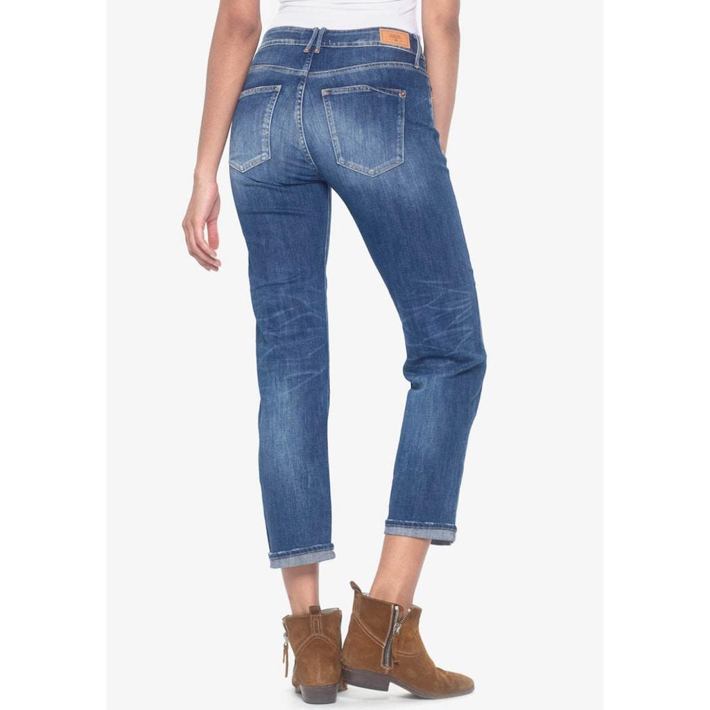 Le Temps Des Cerises Ankle-Jeans »BASIC«, perfekter Sitz durch Elasthan-Anteil