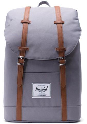 Herschel Laptoprucksack »Retreat  -  Grey/Tan« kaufen