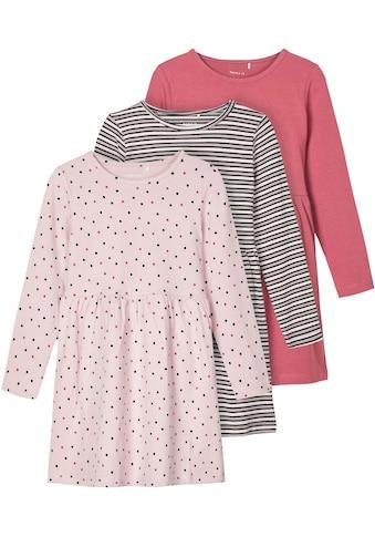 Name It Jerseykleid »NMFRONLA LS DRESS 3P«, (Packung) kaufen