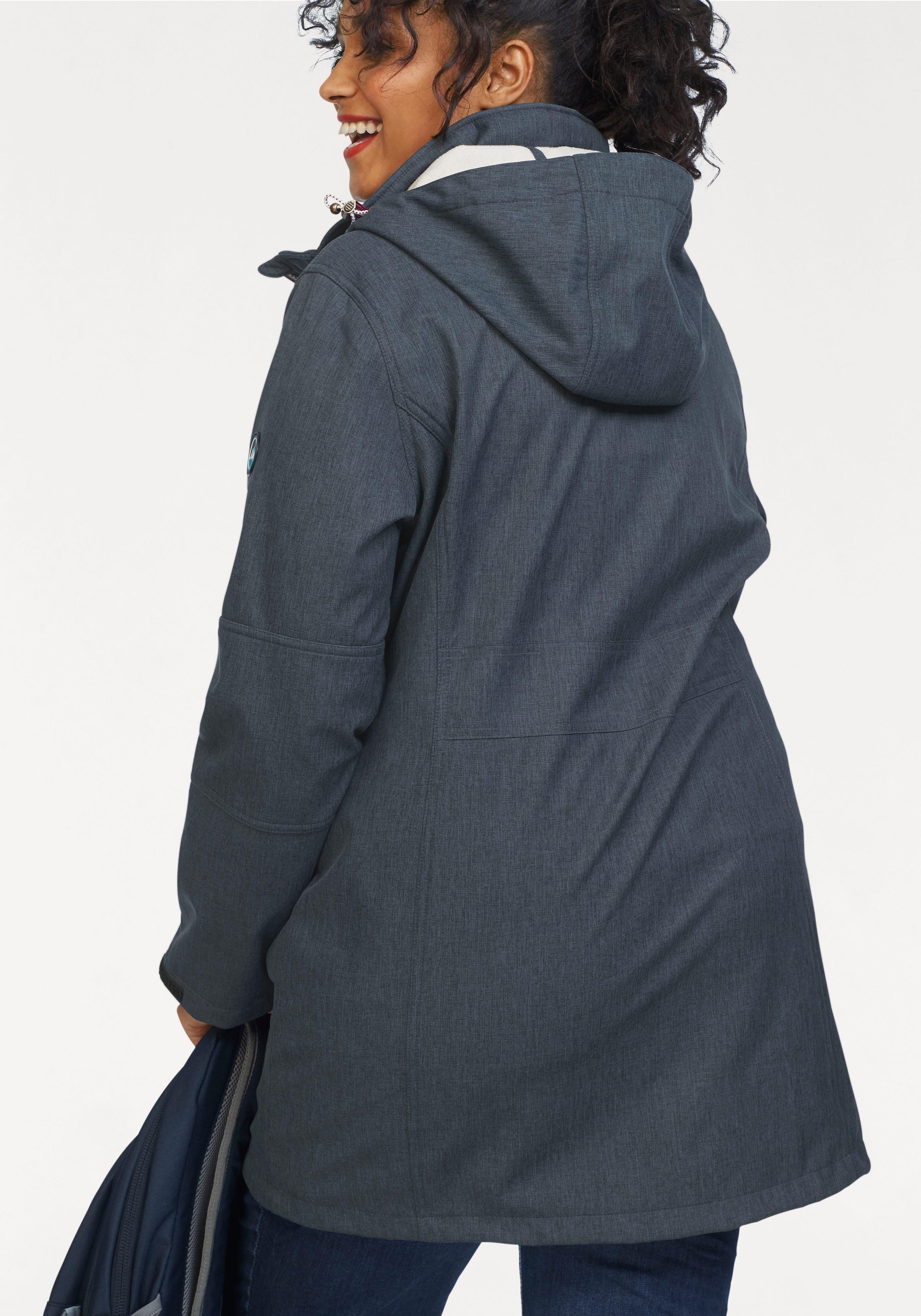 Polarino Softshellparka Softshellparka Softshellparka Damenmode Lange Jacken Damen Jacken ecf4ce