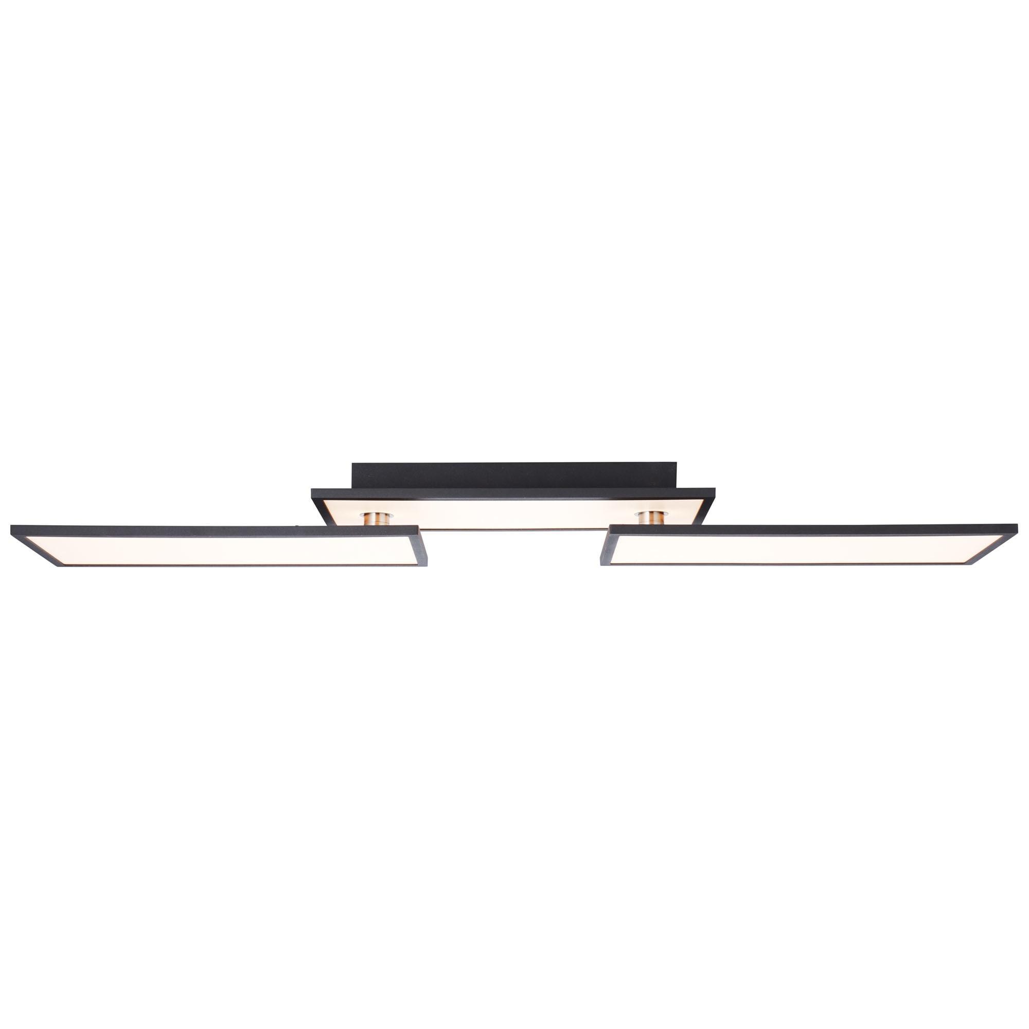 Brilliant Leuchten Bility LED Deckenaufbau-Paneel 110x20cm schwarz/weiÃY easyDim