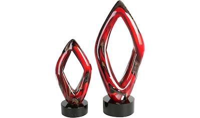 Casablanca by Gilde Dekoobjekt »Skulptur Große Raute«, Höhe 31 cm, handgefertigt, aus... kaufen