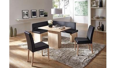 SCHÖSSWENDER Eckbankgruppe »Anna«, (Set, 5 tlg.), zeitloeses Design kaufen