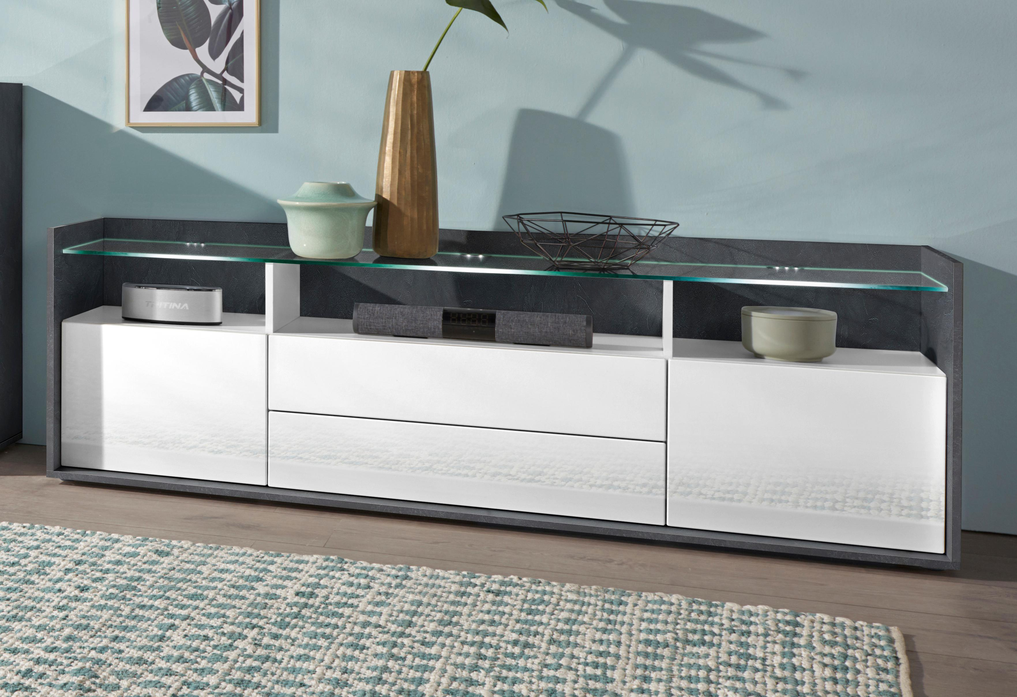 borchardt Möbel Lowboard Livorno günstig online kaufen
