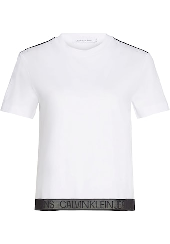 Calvin Klein Jeans T - Shirt »MESH TAPE MODERN STRAIGHT TEE« kaufen