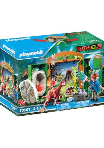 """Playmobil® Konstruktions - Spielset """"Spielbox Dinoforscher (70507), Dinos"""" kaufen"""